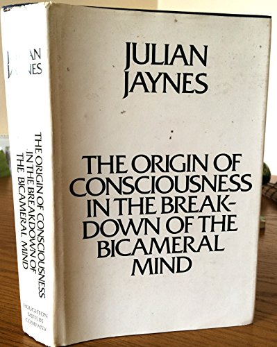 9780395324400: Origin of Consciousness in the Breakdown of the Bicameral Mind