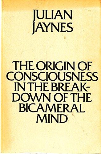9780395324400: Origin of Consciousness