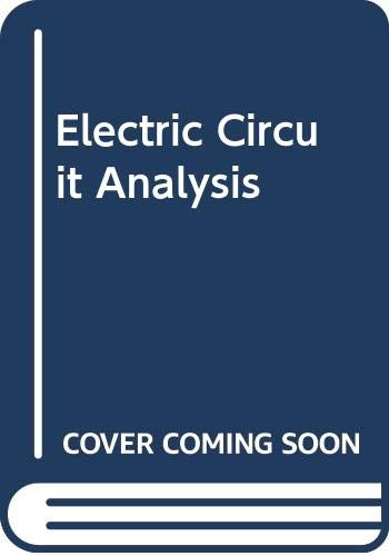 9780395326176: Electric Circuit Analysis