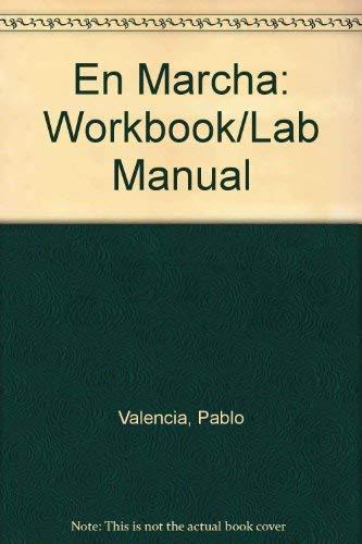 9780395327432: En Marcha: Workbook/Lab Manual