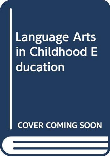 Language Arts in Childhood Education (0395327563) by Burns, Paul