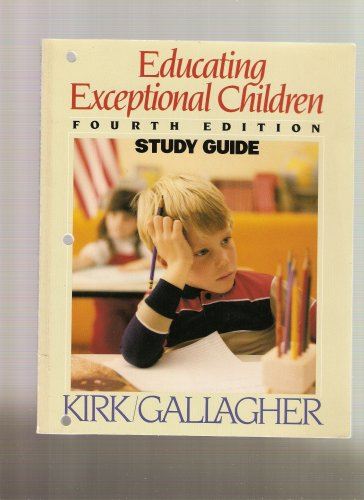 9780395327739: Educating Exceptional Children - Study Guide- 1983 publication.