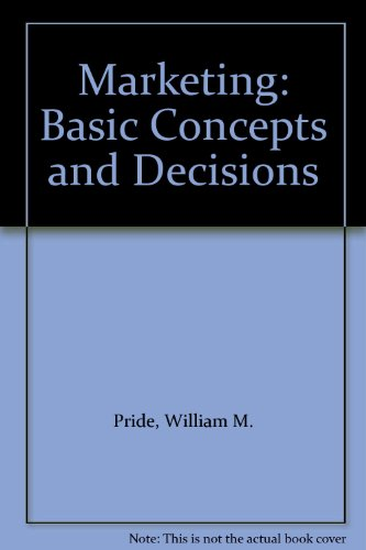 9780395328163: Marketing: Basic Concepts and Decisions