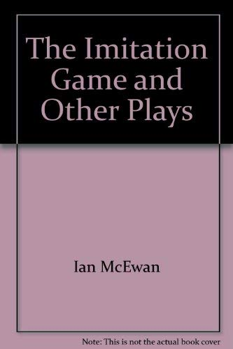 9780395329337: The imitation game and other plays