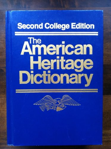 American Heritage Dictionary, Second College Edition: American Heritage