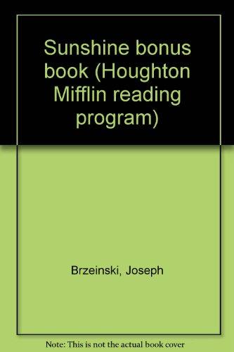 9780395329689: Sunshine bonus book (Houghton Mifflin reading program)