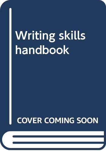 9780395330173: Writing skills handbook