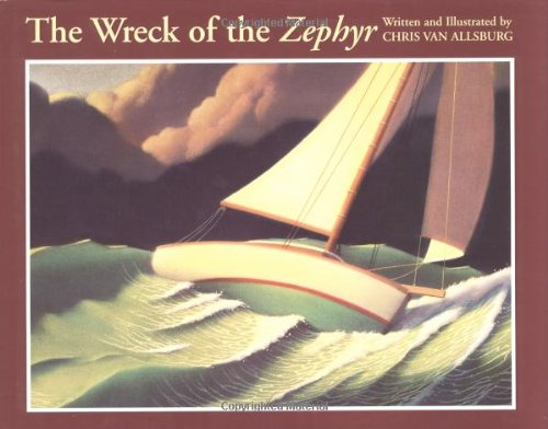The Wreck of the Zephyr (SIGNED): Van Allsburg, Chris