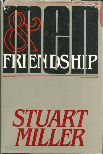 9780395331033: Men and friendship