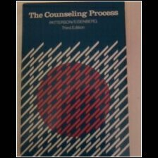 9780395331651: The counseling process