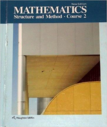9780395332672: Mathematics Structure and Method Course 2 New Edition