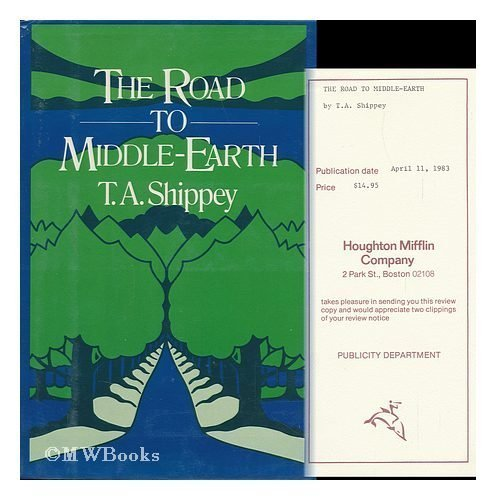 9780395339732: The Road to Middle-Earth