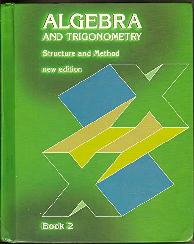 9780395340929: Algebra Structure and Method (new edition) (Book One)