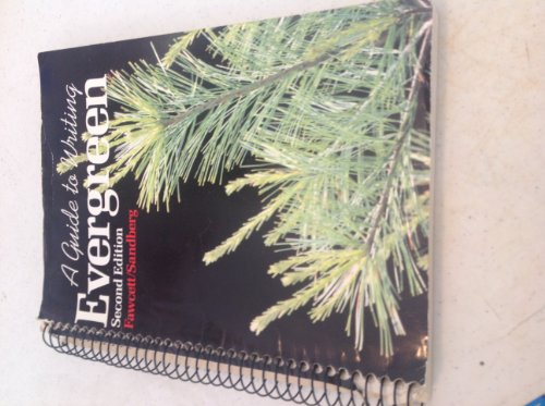 9780395341070: Evergreen: A Guide to Writing