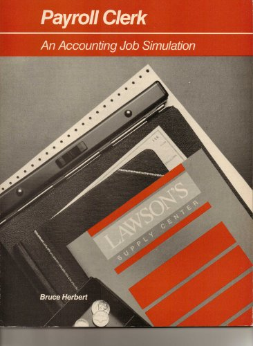 9780395341858: Payroll clerk: An accounting job simulation (Houghton Mifflin accounting)