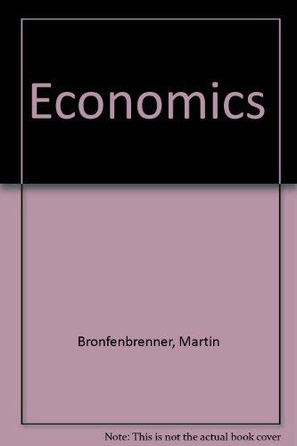9780395342275: Economics
