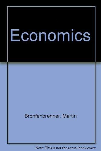 9780395342312: Economics