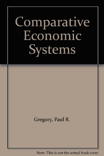 9780395342411: Comparative Economic Systems