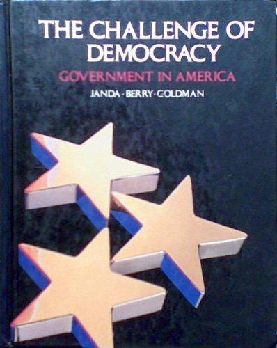 9780395343531: Challenge of Democracy