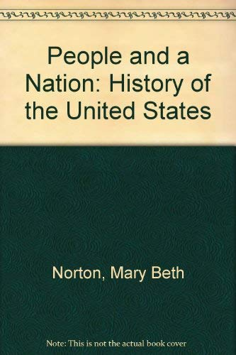 9780395343692: A People and a Nation