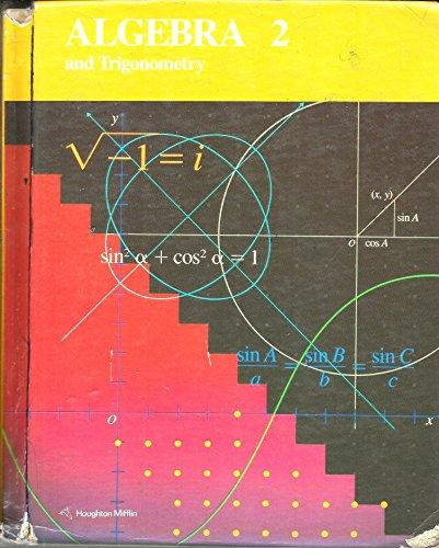 9780395343784: Algebra 2 and Trigonometry
