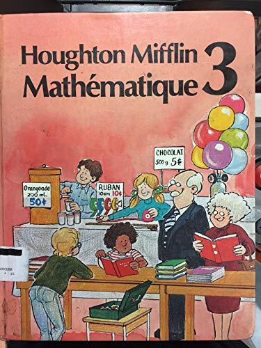 9780395346518: Houghton Mifflin Mathematique 3