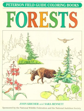 9780395346761: Forests (Peterson Field Guide Coloring Books)