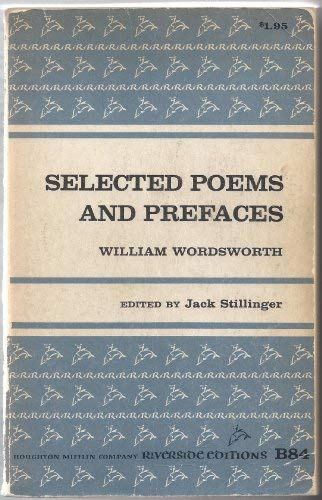 9780395347713: Selected Poems and Prefaces