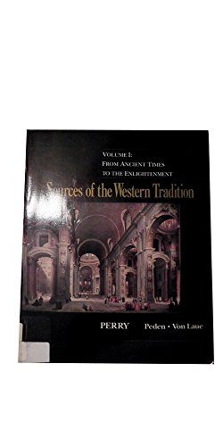 Sources of the Western tradition: Perry, Marvin; Von Laue, Theodore H.; Pe