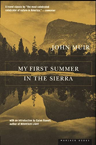 9780395353516: My First Summer in the Sierra Pa