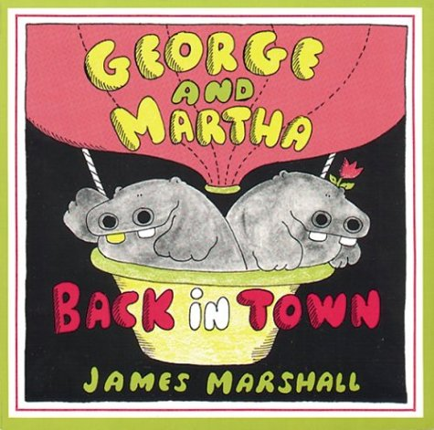 9780395353868: George and Martha Back in Town