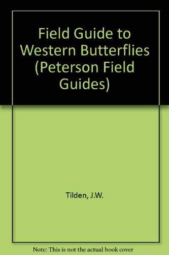 9780395354070: A Field Guide to Western Butterflies (Peterson Field Guide Series)