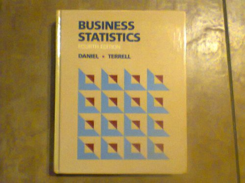9780395356517: Business Statistics: Basic Concepts and Methodology