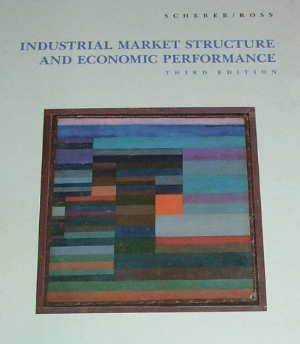 9780395357149: Industrial Market Structure and Economic Performance