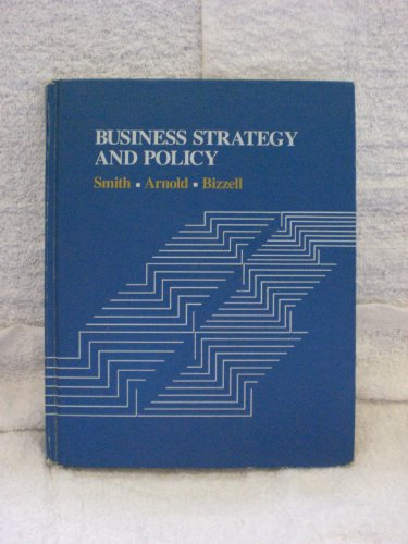 9780395357187: Business Strategy and Policy