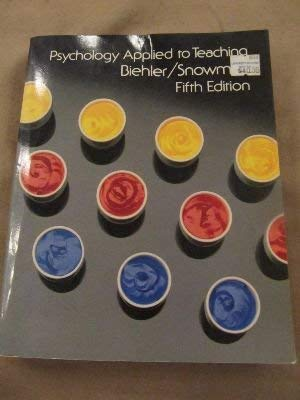 9780395357569: Psychology Applied to Teaching