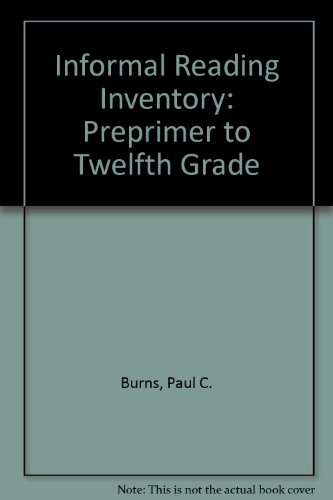 9780395357583: Informal Reading Inventory: Preprimer to Twelfth Grade