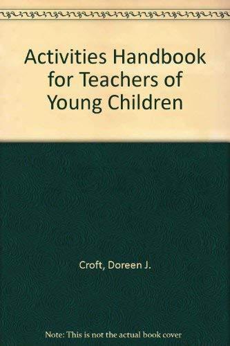 9780395357620: Activities Handbook for Teachers of Young Children