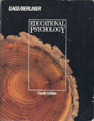 9780395357668: Educational Psychology
