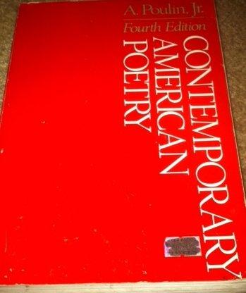 9780395358054: Contemporary American poetry