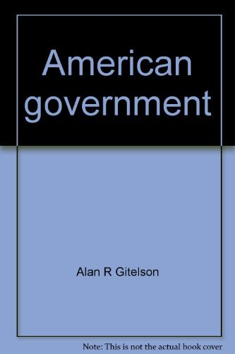 9780395358788: American government