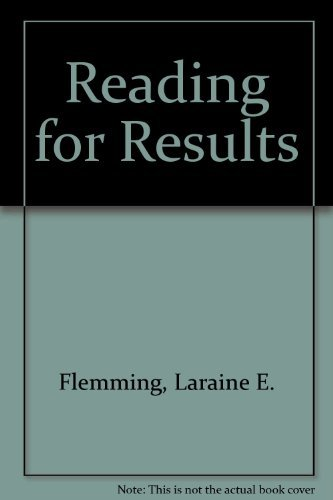 9780395359303: Reading for Results