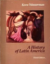 9780395359426: A History of Latin America