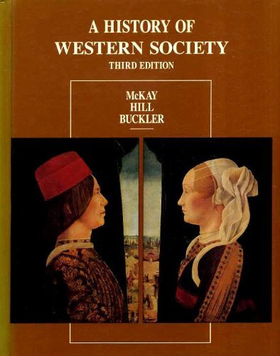 9780395359464: A History of Western Society, Third Edition