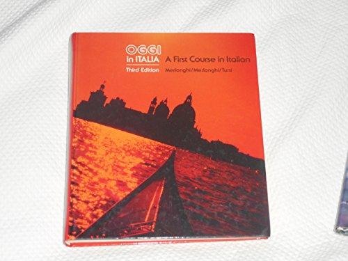 9780395359471: Oggi in Italia: First Course in Italian (English and Italian Edition)