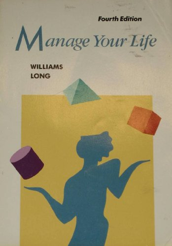 9780395359723: Manage Your Life