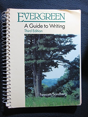 9780395359990: Evergreen: A Guide to Writing