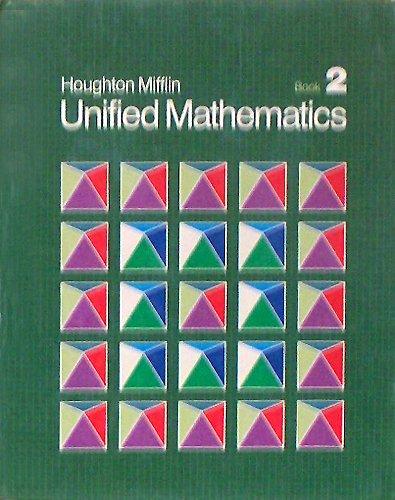 9780395360866: Unified Mathematics, Book 2