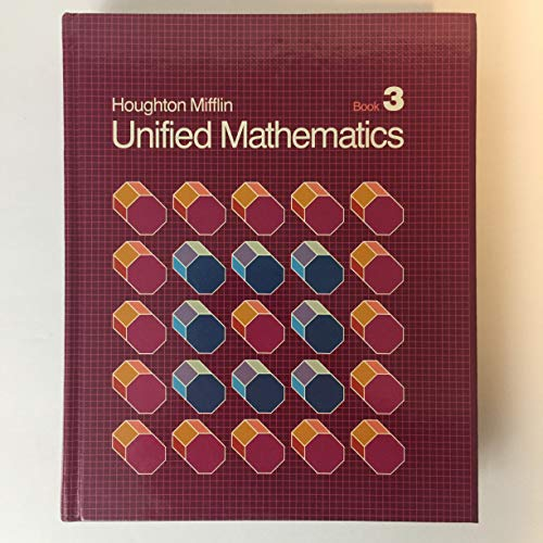 9780395360873: Unified Mathematics, Book 3