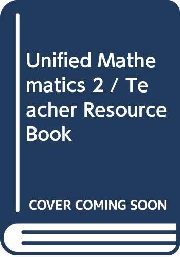 9780395360927: Unified Mathematics 2 / Teacher Resource Book